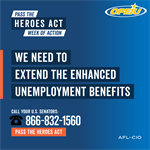 Tell your senators: Pass the HEROES Act